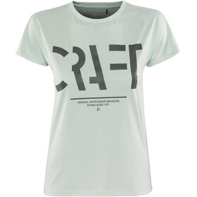 Craft Eaze Logo Running T-shirt Women turquoise